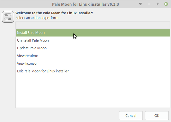 Pale Moon for Linux installer v0.2.3_278.png