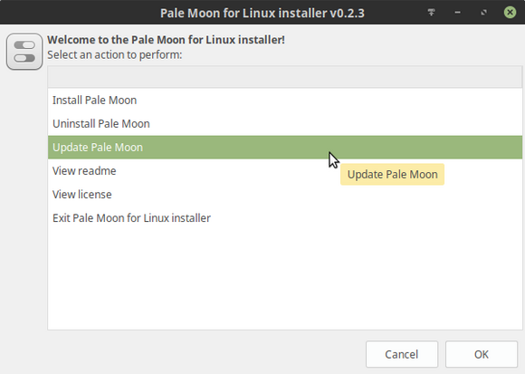 Pale Moon for Linux installer v0.2.3_286.png